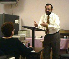 Dr David Frederick teaching a class on Functional medicine at Cherubino Health Center