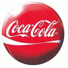 Red and white Coca-Cola logo