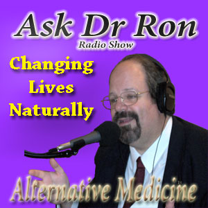 Dr Ron Cherubino at the microphone on the Ask Dr Ron Show
