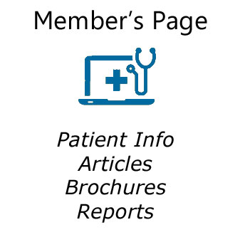 Blue icon for Member's Page Patient Info
