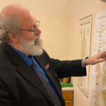 Dr Ron teaching at Cherubino Health Center